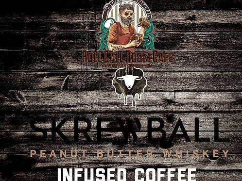 Skrewball peanut butter bourbon coffee