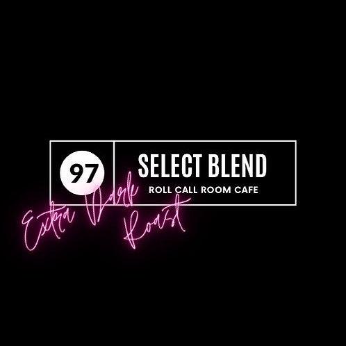 97 Select Blend extra dark roast