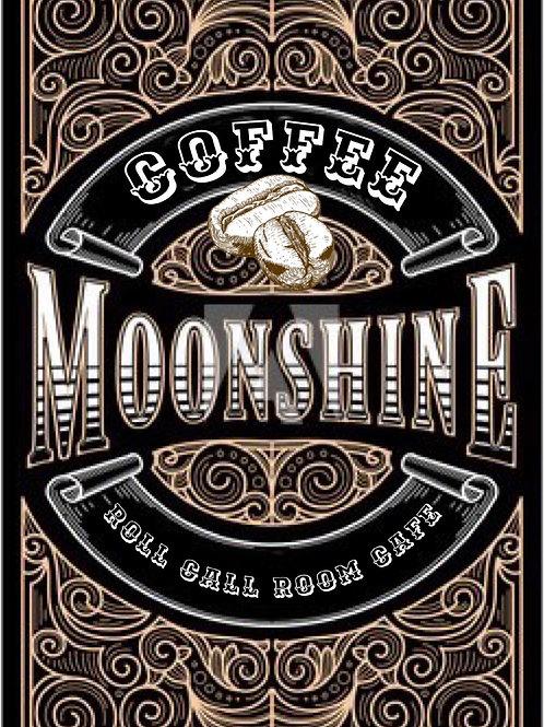 Coffee moonshine roast