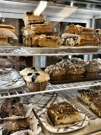 Home baked pastries