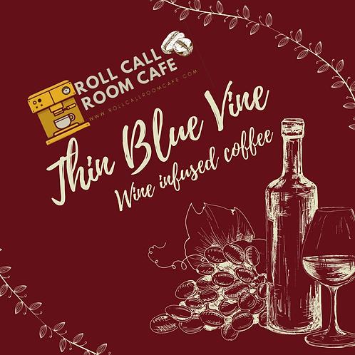 Thin Blue Vine wine infused coffee