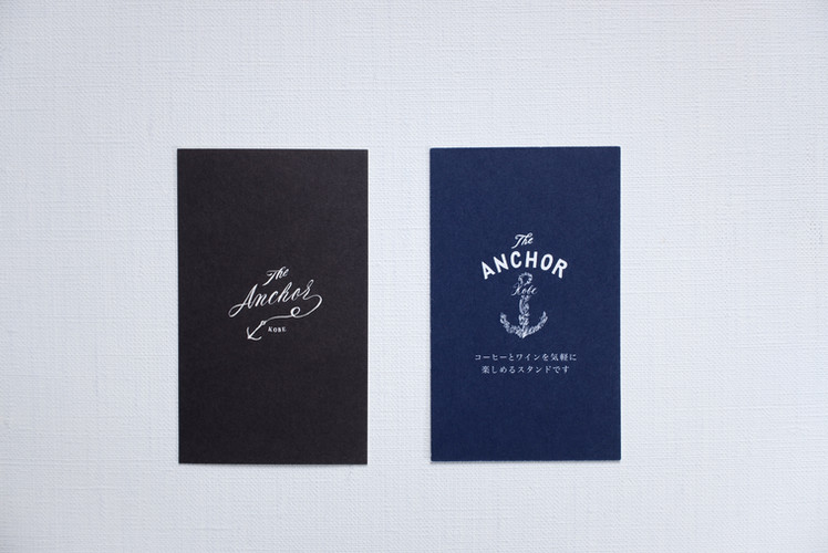 ANCHOR / SHOP CARD DESIGN
