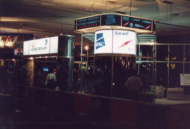 1992 NAB ATRC booth s