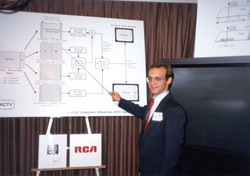mike with chart