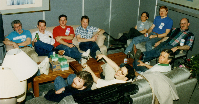 1991 NAB Sarnoff gang