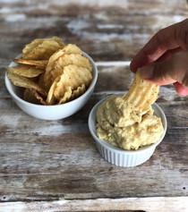 Garlic Dip with Almond Pulp
