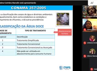 Programa Jovem Profissional do Saneamento promove webinário