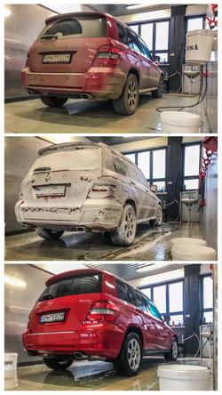 proces umývania