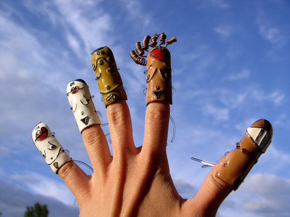 Finger people / Palcowi ludzie
