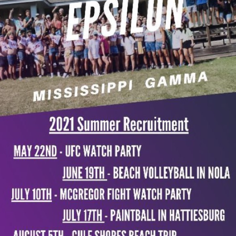 Sigma Phi Epsilon   Summer Recruitment