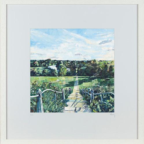 'Hill View' 50x50cm