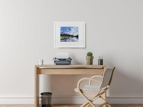 'Hampton Court Sunrise' 60x50cm