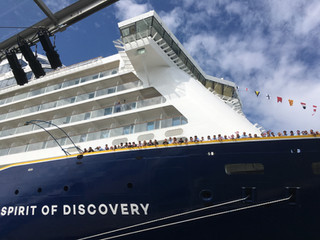 Spirit of Discovery launch