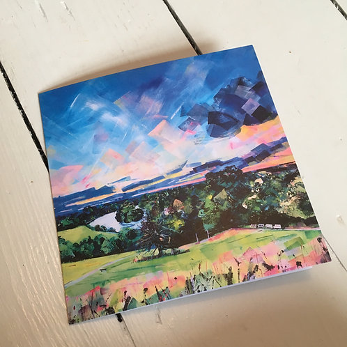 5 cards 'Richmond Sunset'