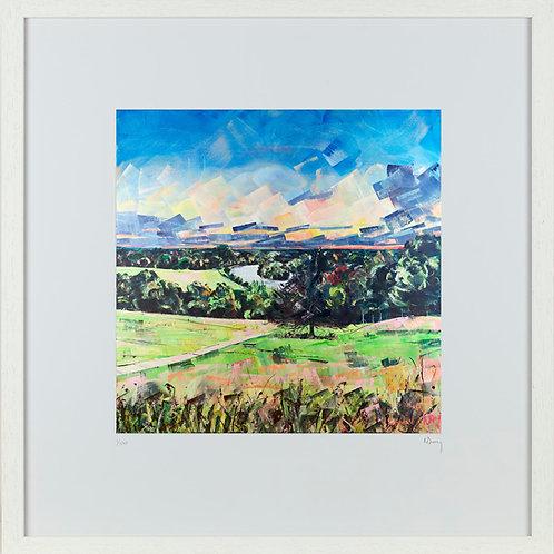 'Richmond Hill Sunset' 50x50cm