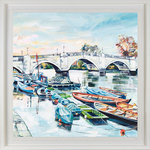 'Richmond Riverside' 80x80cm