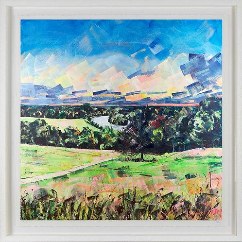 'Richmond Hill Sunset' 80x80cm