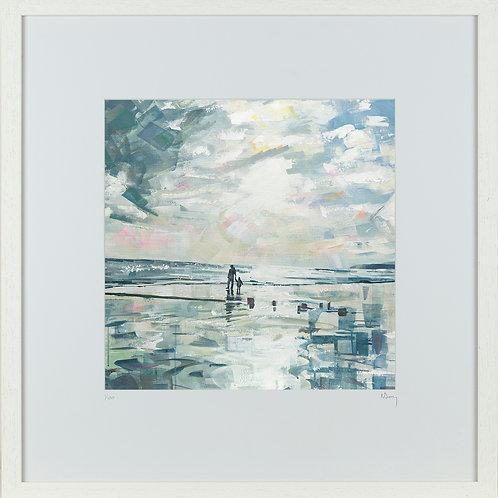 'Sunset Stroll' 50x50cm