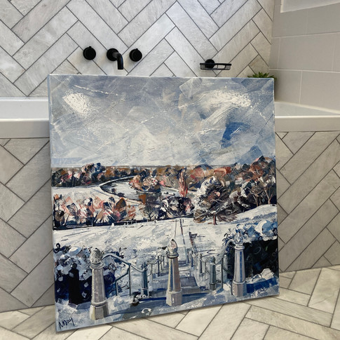 Snowy Richmond Hill (available in shop)