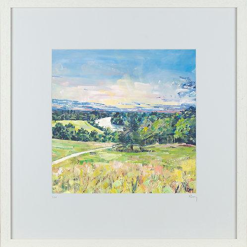'That View' 50x50cm