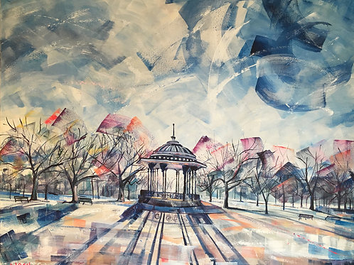 Frosted Bandstand