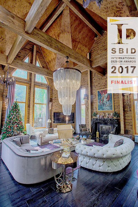 Luxury Log House Russia SBID Finalist