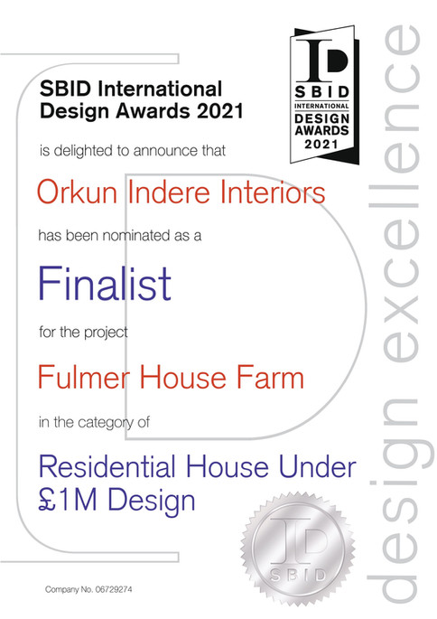 SBID Awards 2021 • Finalist