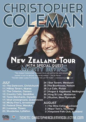 Chrisopher Coleman NZ Tour Updated 451kb