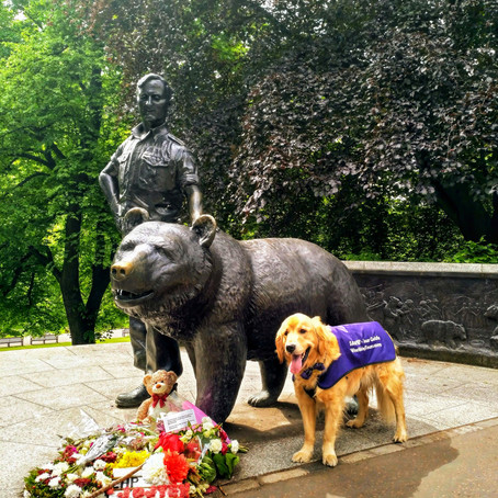 "Wojtek's Journey: From ""Happy Warrior"" of the Polish Army to Edinburgh Legend"