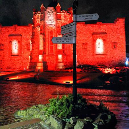 'Castle of Light' Spectacular at Edinburgh Castle