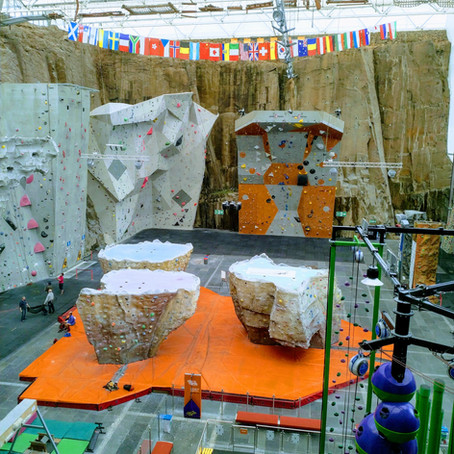 Soaring to Exciting Heights at Edinburgh International Climbing Arena