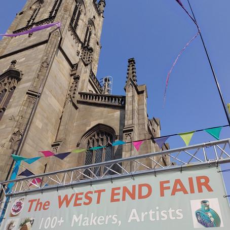 Edinburgh's West End Fair: 'Scotland's Premier Art and Design Fair'