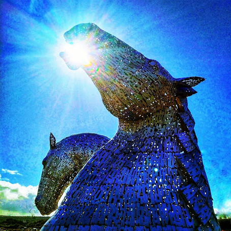 The Kelpies in Falkirk: Celebrating Scottish Heritage
