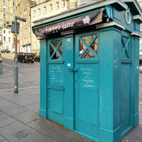 Edinburgh Police Boxes: From Public Safety to Haggis