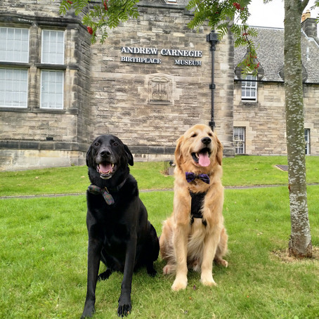 Visiting the Andrew Carnegie Birthplace Museum in Dunfermline