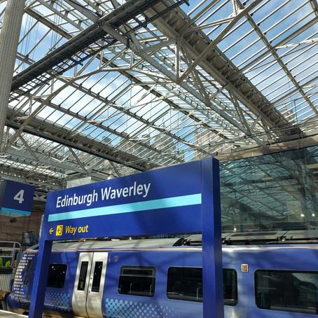 Edinburgh Waverley Station: 'Scott'-ish Marvel