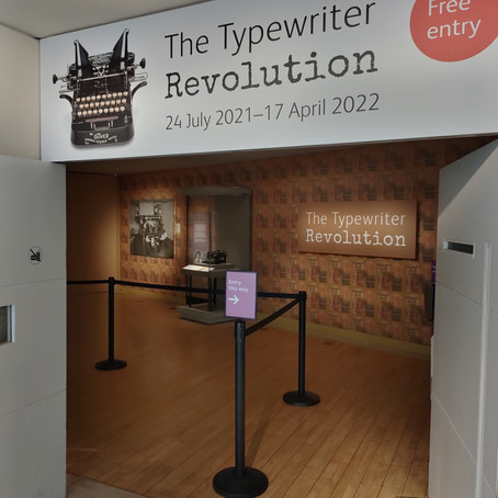 'The Typewriter Revolution' at the National Museum of Scotland