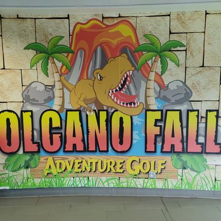 Mini Golf Adventure at Volcano Falls Edinburgh