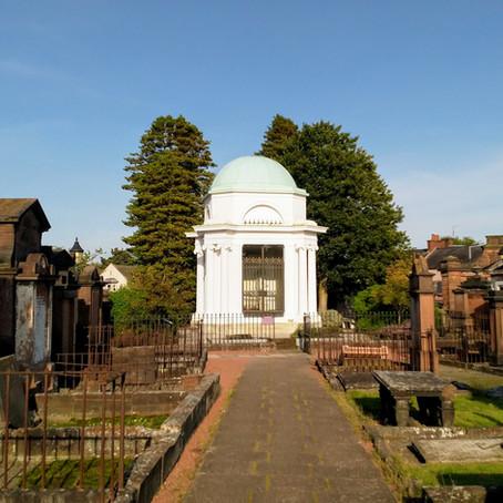 Remembering the Ploughman Poet – the Robert Burns Mausoleum in Dumfries