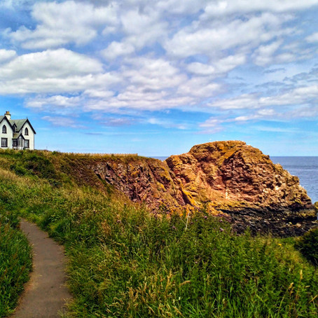 Visiting New Asgard via St Abbs, Scotland