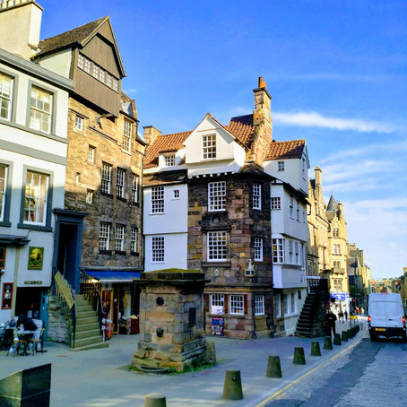 The John Knox House in Edinburgh, Scotland