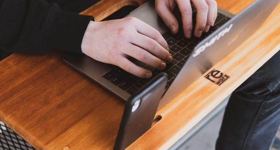 Bleacher wood Lap Desk