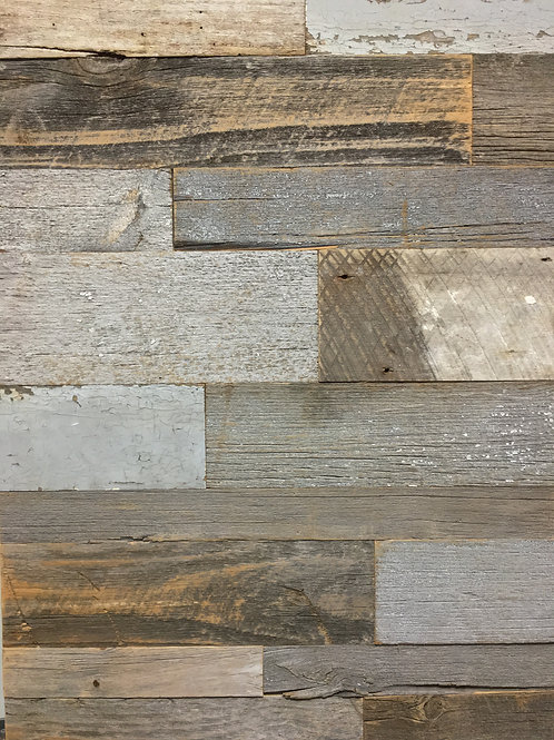 Reclaimed Wood - Gray Mix Authentic BARN WOOD  wall board Cladding