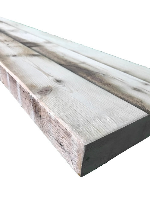 Reclaimed Wood - 48 x 10 Authentic BARN WOOD Floating Shelf