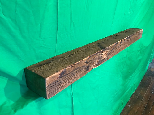 Reclaimed Wood Mantel #4- White Pine