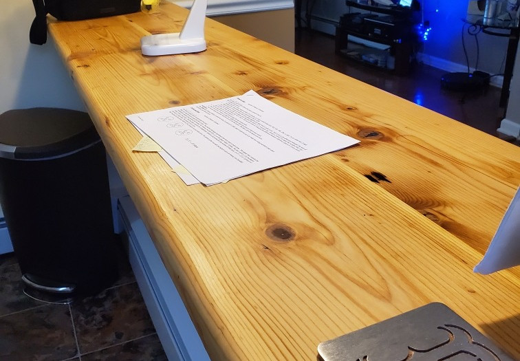 Long reclaimed workstations