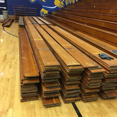 the wood is ready