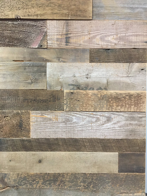 Reclaimed Wood - Browns - Authentic BARN WOOD  wall board Cladding