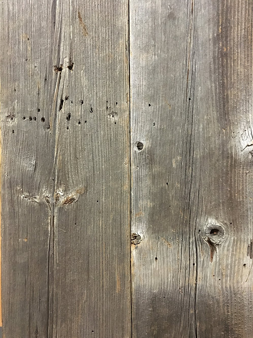 Reclaimed Wood - Authentic Gray BARN WOOD plank wall