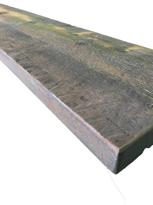 Reclaimed Wood - 60 x 10 Authentic BARN WOOD Shelving